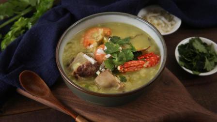 味库美食视频 2018 第45集 最有名气的家乡味之一 广东潮汕砂锅粥