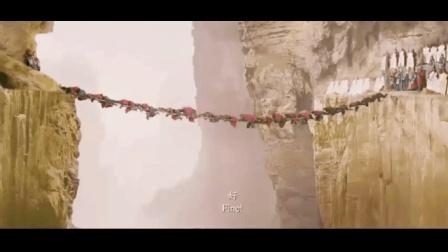 宋代神剧, 杨家将被逼悬崖绝壁, 用搭人桥的方式通过, 开眼了