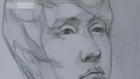 素描头像照片 铅笔画动漫人物教程 怎么学习素描