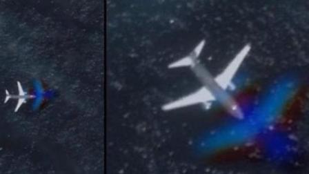 美国西海岸出现神秘飞机低空飞行, 似乎在寻找海底基地!