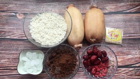 红糖糯米藕保健养胃、养血益气, 特别适合脸色不好的人, 快点学起来吧