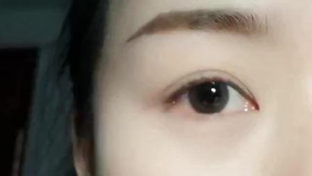 三分钟学会画眼影系列-完美日记波尔多酒三色眼影