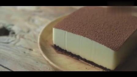 超爱这个, 不用烤箱, 不用面粉, 也能自制的提拉米苏蛋糕