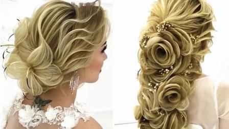 新娘发型太美的话, 会让人产生无论如何都要披一次婚纱的想法吧