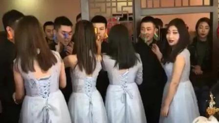 真实婚礼: 伴娘们都玩嗨了, 伴郎要哭了哈哈