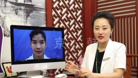 深圳京韩脂肪移植专科额头苹果肌填充案例