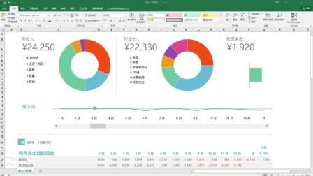 【Excel 2016入门到精通】第36章 更改图表布局和样式2