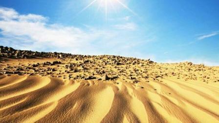 沙漠变土壤你见过吗神奇