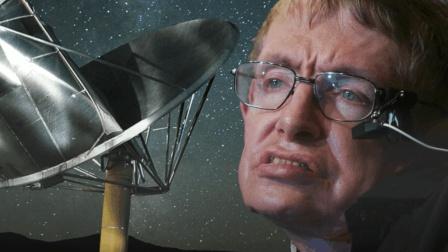 上知天文下肢瘫痪的霍金, 怒斥中国不要登月, 月球背面真的存在外星人?