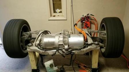 特斯拉为什么提速快, 看看这电动机转速就知道了!