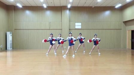 小花球啦啦操丨舞蹈女生的最美展现