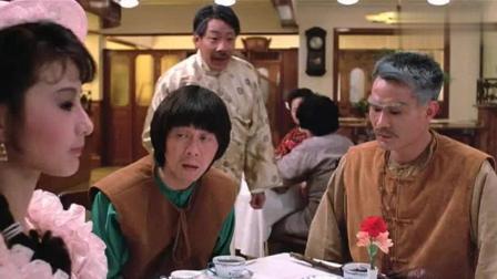 僵尸先生林正英吃西餐get新技能, 教你蛋挞新吃法, 绝无仅有