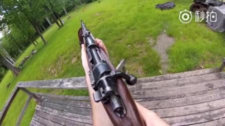 「吃鸡」简直逼真啊! Kar98k狙击枪在现实生活中使用是一种什么样的感受呢?