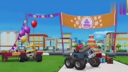 旋风战车队: 快点拯救超级大蛋糕飚速!
