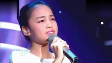 十一岁小女孩霸气挑战导师, 唱哭全场, 韩红说我都没有她唱的好!