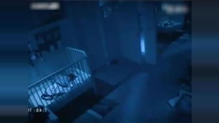 国外一女子独自在家, 监控竟拍下恐怖一幕!