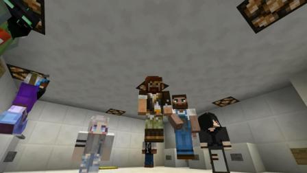 我的世界Minecraft-籽岷的1.12多人找按钮 世界找按钮视频