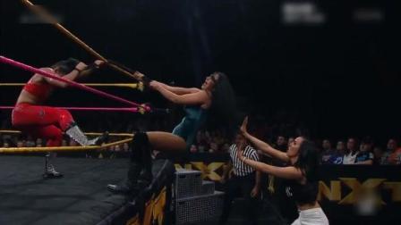 NXT女子大赛, 头发也能当做武器, 是不是来我国偷过师