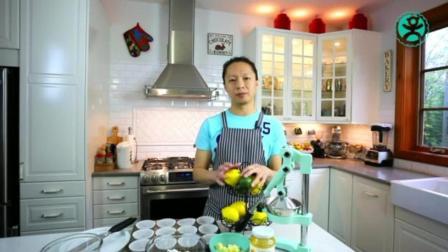 自制生日蛋糕的做法大全 刘清蛋糕培训学校 蛋糕烘焙学习