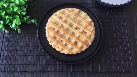 烘焙蛋黄的做法视频教程 网格蜜桃派的制作方法tx0 手工面包烘焙视频教程