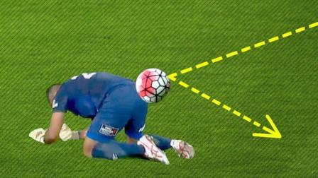 守门员人品爆发, 闭着眼睛都能把球扑出来