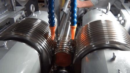 2万一根的大型螺栓螺纹原来这样加工? 网友: 难道不是刨出来的?