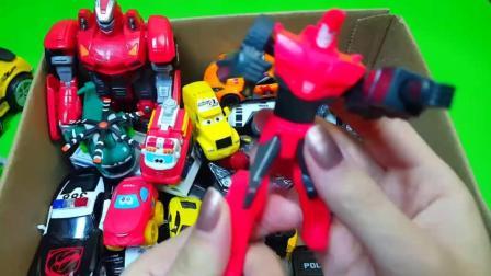 小警车和小拖车的救援任务, 我的玩具箱子