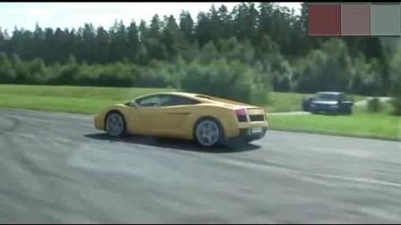 同是V10发动机的宝马M5和兰博基尼差距有多大? 比下加速就知道了