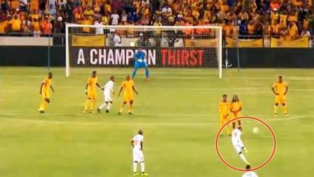 国际足坛一月份10佳球: 非洲悍将不讲理电梯球 神来之笔看跪守门员