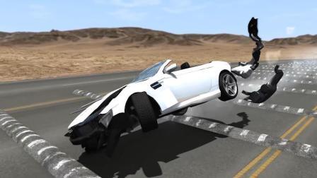 减速带对车伤害究竟有多大? 汽车连过50个减速带, 结果让人目瞪口呆