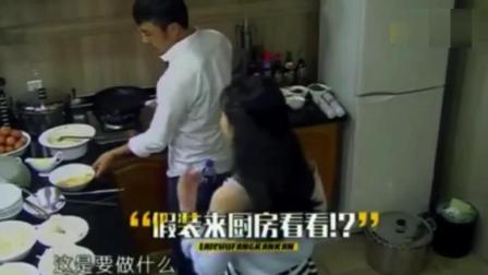 看赵丽颖和谢娜素颜起床的第一件事是干什么, 差距好大啊