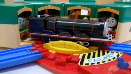 托马斯小火车玩具动画视频60