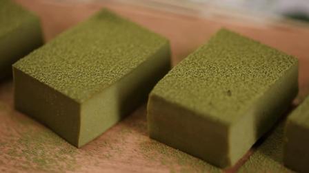 豆腐遇上抹茶 颜值简直要逆天 香甜嫩滑 比冰淇淋还好吃