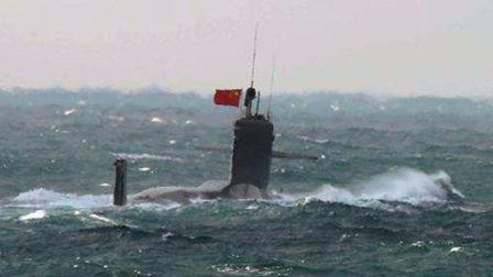 中国核潜艇突然浮出海面 日本军舰拍下这张照片后内心崩溃