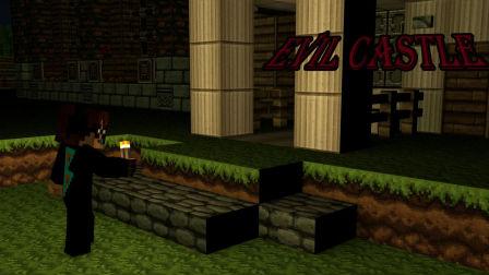【FXB】Minecraft我的世界恐怖解谜地图邪灵鬼宅上集 一点也不恐怖啊!