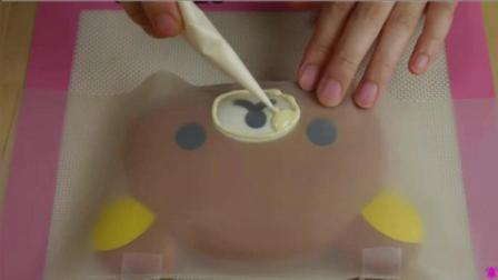 用便当盒做卡通轻松熊慕斯蛋糕教程! 孩子的最爱!