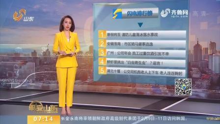 【闪电新闻排行榜】广州: 公司年会 员工过量饮酒引发不幸