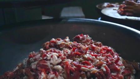 川味麻辣香肠的经典做法, 过年必须得自己做几斤吃