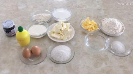 烘焙蛋挞最简单做法视频教程 蓝莓乳酪派的制作方法tb0 简易烘焙教程