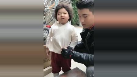 李欣蕊搞笑视频, 这孩子反应好快, 小大人是的招