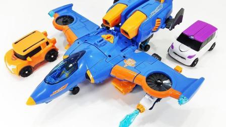 变形金刚机器人变身飞机玩具