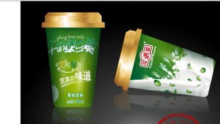 平面设计 印刷篇-牛奶绿豆爽1-CDR教程
