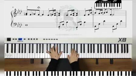 【久音盒钢琴】杰伦生日快乐 「等你下课」bA调原版 钢琴谱教学视频