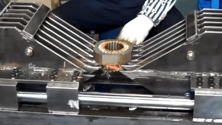 还敢偷电缆卖铜还钱? 用这机器剔除电机的铜线不要太爽啊!