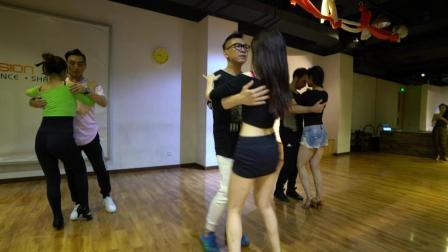 Bachata舞蹈课堂, 现场教学