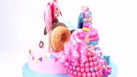 卡通美少女娃娃蛋糕(蛋糕甜点教程)