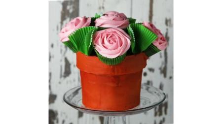 教你做玫瑰花形状的巧克力甜品