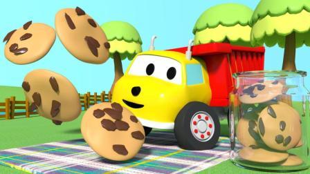 曲奇饼干:和翻斗车伊森学习数字 和翻斗车伊森学习数字