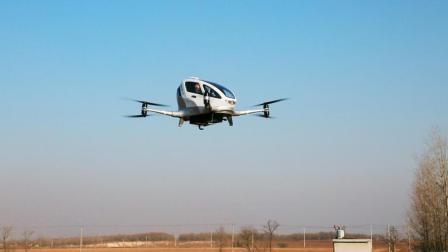 亿航184自动驾驶飞行器载人飞行, CEO亲自试乘