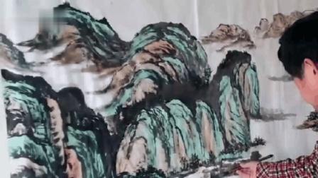 黄成峰国画山水视频 _高清在线观看_百度视频